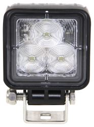 "Opti-Brite Mini LED Work Light - Flood Beam - 3 Diodes - Black Aluminum - 2-3/4"" Square - Qty 1"