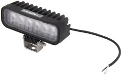 Opti-Brite LED Work Light - Flood Beam - 720 Lumens - Black Aluminum - Rectangle - Qty 1