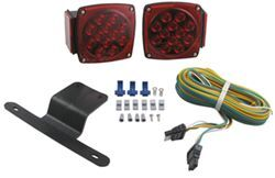 "Submersible, Under 80"" LED Trailer Light Kit with 25' Wiring Harness"