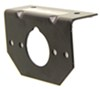 TrailerMate Mounting Bracket for 4-Way, 5-Way, or 6-Way Round Trailer Connector