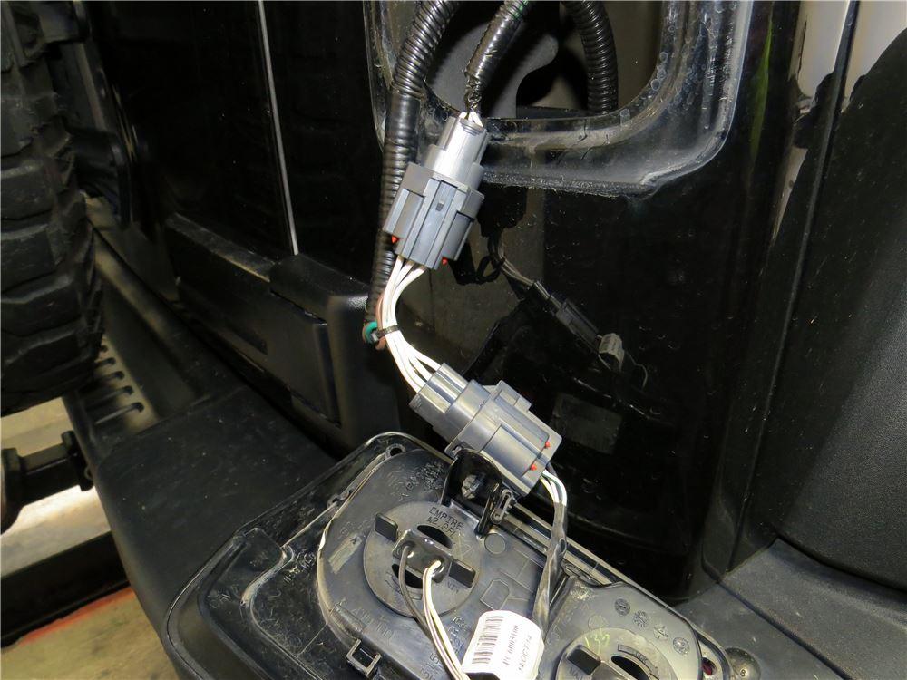 2013 jeep wrangler tow bar wiring trailermate. Black Bedroom Furniture Sets. Home Design Ideas
