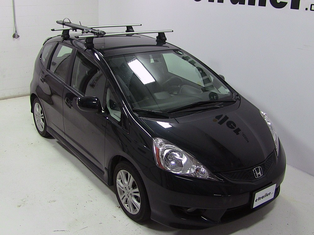 2015 honda fit kuat trio roof bike rack fork mount. Black Bedroom Furniture Sets. Home Design Ideas
