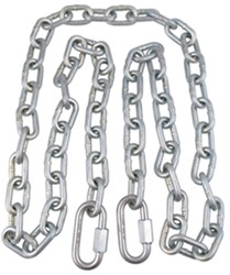 "Safety Chain with Quick Links - 72"" Long - 5,000 lbs"