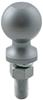 "Hitch Ball with 2"" Diameter and Medium Shank, 3,500 lbs GTW - Chrome"