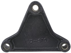 "Triangular Equalizer for 1-3/4"" Double-Eye Springs - 6-1/16"" Long - 9/16"" Center Hole"
