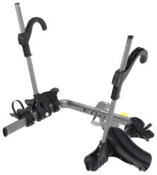 "Kuat Transfer 2 Bike Platform Rack - 1-1/4"" and 2"" Hitches - Wheel Mount - Tilting - Gray - TS02G"