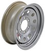 "Taskmaster Steel Modular Trailer Wheel - 16"" x 6"" Rim - 6 on 5-1/2 - Silver"
