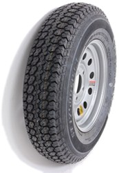 "Taskmaster ST175/80D13 Bias Trailer Tire with 13"" Silver Mod Wheel - 5 on 4-1/2 - Load Range C"