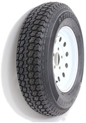 "Taskmaster ST175/80D13 Bias Trailer Tire with 13"" White Mod Wheel - 5 on 4-1/2 - Load Range C"