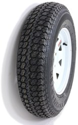 "Taskmaster ST175/80D13 Bias Trailer Tire with 13"" White Spoke Wheel - 5 on 4-1/2 - Load Range C"