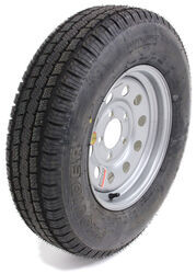 "Provider ST175/80R13 Trailer Tire w/ 13"" Silver Mod Wheel - 5 on 4-1/2 - LR C"