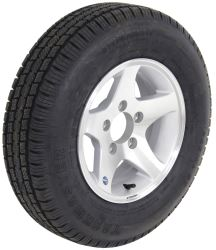"Provider ST175/80R13 Radial Tire w/ 13"" Series 04 Star Mag Aluminum Wheel - 5 on 4-1/2 - LR C"