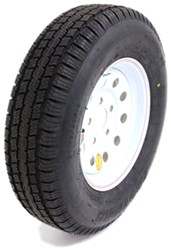 "Provider ST175/80R13 Trailer Tire w/ 13"" White Mod Wheel - 5 on 4-1/2 - LR C"