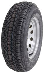 "Taskmaster ST205/75D14 Bias Trailer Tire with 14"" Silver Mod Wheel - 5 on 4-1/2 - Load Range C"
