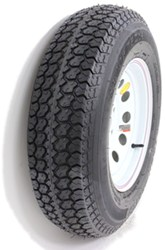 "Taskmaster ST205/75D14 Bias Trailer Tire with 14"" White Mod Wheel - 5 on 4-1/2 - Load Range C"