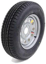 "Provider ST205/75R15 Trailer Tire w/ 15"" Silver Mod Wheel - 5 on 5 - LR C"