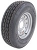 "Provider ST235/85R16 Radial Trailer Tire w/ 16"" Silver Mod Wheel - 8 on 6-1/2 - LR G"