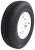 "Provider ST235/80R16 Radial Trailer Tire w/ 16"" White Mod Wheel - 6 on 5-1/2 - LR E"