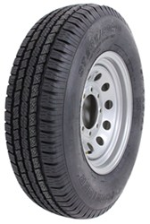 "Provider ST235/80R16 Radial Trailer Tire w/ 16"" Silver Mod Wheel - 8 on 6-1/2 - LR E"