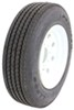 "Provider 215/75R17.5 Radial Tire w/ 17-1/2"" White Mod Wheel - Offset - 8 on 6-1/2 - LR H"