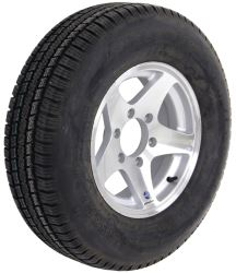 "Provider ST225/75R15 Radial Tire w/ 15"" Series 04 Star Mag Aluminum Wheel - 6 on 5-1/2 - LR D"