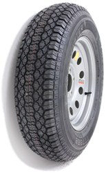 "Taskmaster ST205/75D15 Bias Trailer Tire with 15"" Silver Mod Wheel - 5 on 4-1/2 - Load Range C"