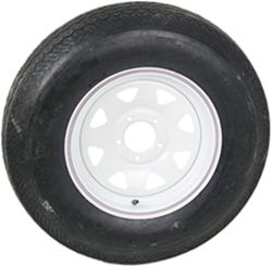 "ST205/75-D15 Bias Trailer Tire with 15"" Steel Wheel - 5 on 5 - Load Range C"