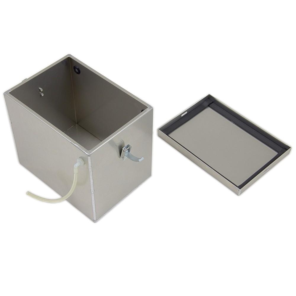 Tow Rax Battery Box Aluminum 12 Quot Long X 8 5 8 Quot Wide X