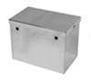 "Tow-Rax Battery Box - Polished Aluminum - 14"" Long x 9"" Wide x 10-3/8"" Tall"