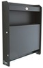 "Tow-Rax Aluminum Storage Cabinet w/ Folding Tray - 30"" Tall x 27"" Wide - Black Finish"