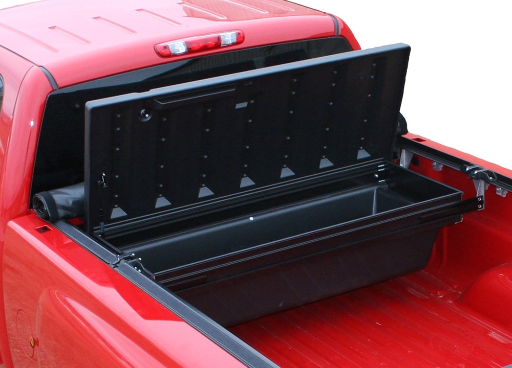 2000 Toyota Tundra Transmission TruXedo TonneauMate Truck Bed Toolbox - Crossover Style - Poly Tub ...