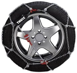 Konig Self-Tensioning, Low-Profile Snow Tire Chains - Diamond Pattern - D Link - CG9 - Size 117