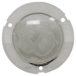 LED Trailer Utility Light - Submersible - 9 Diodes - Round - Clear Lens