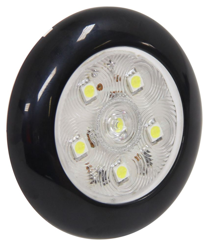 "LED Utility Light w/ Touch Switch - 3"" Round - 6 Diodes"