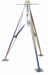 "Ultra-Fab 5th Wheel King Pin Tripod Stabilizer - Steel - 42"" to 50"" - 5,000 lbs"