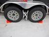 RV Wheels with Wheel Chocks
