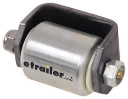 "Ultra-Fab Steel Micro-Roller for Trailers and RVs - Weld On - 2"" Wide x 2-1/4"" Tall"