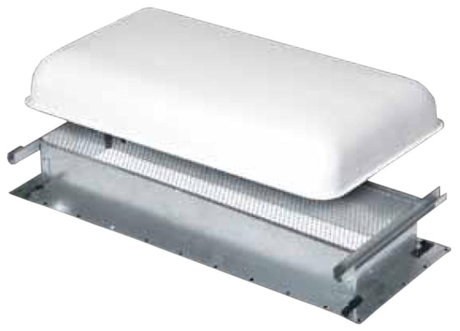 ventline rv refrigerator roof vent with cap 5 x 18. Black Bedroom Furniture Sets. Home Design Ideas