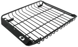 "Kuat Vagabond Roof Mounted Cargo Basket w Built-In Fork Mounts for 2 Bikes - 52-1/2"" x 44"""