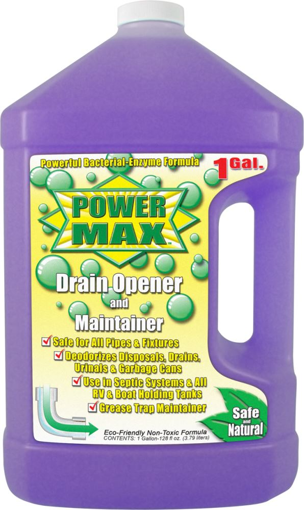 Valterra Power Max Drain Opener And Maintainer 1 Gallon