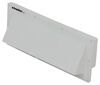 "Ventline Exterior Wall Vent for RV Range Hood - Locking Damper - 1-3/4"" Collar - White"