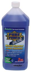 Pure Power Blue Treatment for RV Holding Tanks - Fresh Clean Scent - 64 oz Bottle