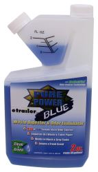 Pure Power Blue Treatment for RV Holding Tanks - Fresh Clean Scent - Self-Measuring Bottle - 32 oz