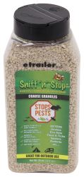 Sniff'n'Stop Natural Pest Deterrent Granules - 32 oz Bottle