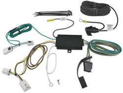 Valley T-Connector Vehicle Wiring Harness with 4-Pole Trailer Connector