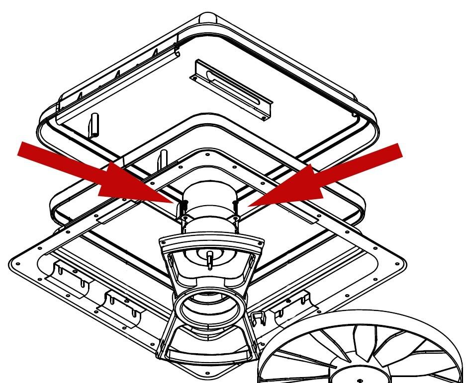 Replacement Screw For Ventline Northern Breeze Motor