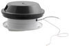 "Ventline Vanair Trailer Roof Vent w/ 12V Fan - 6-1/4"" Diameter - Smoke"