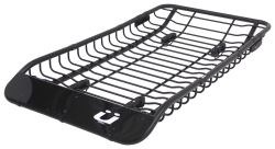 "Kuat Vagabond X Roof Cargo Basket and 2 Bike Carrier - Steel - 73"" x 41"" - 160 lbs"