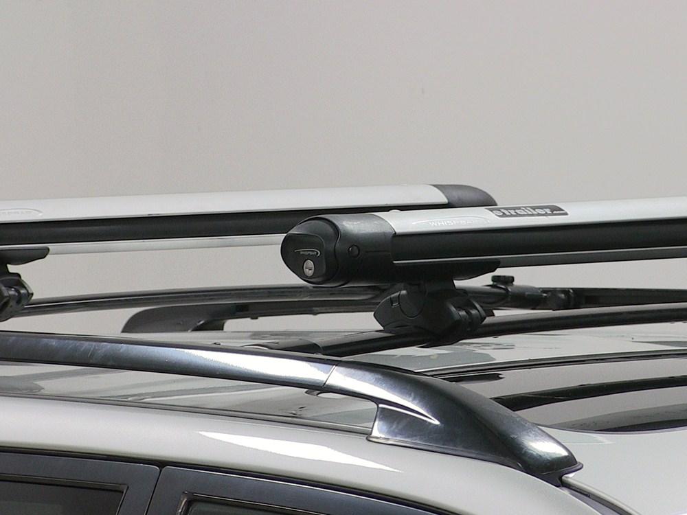 Toyota Highlander Whispbar Locking Rooftop Ski And