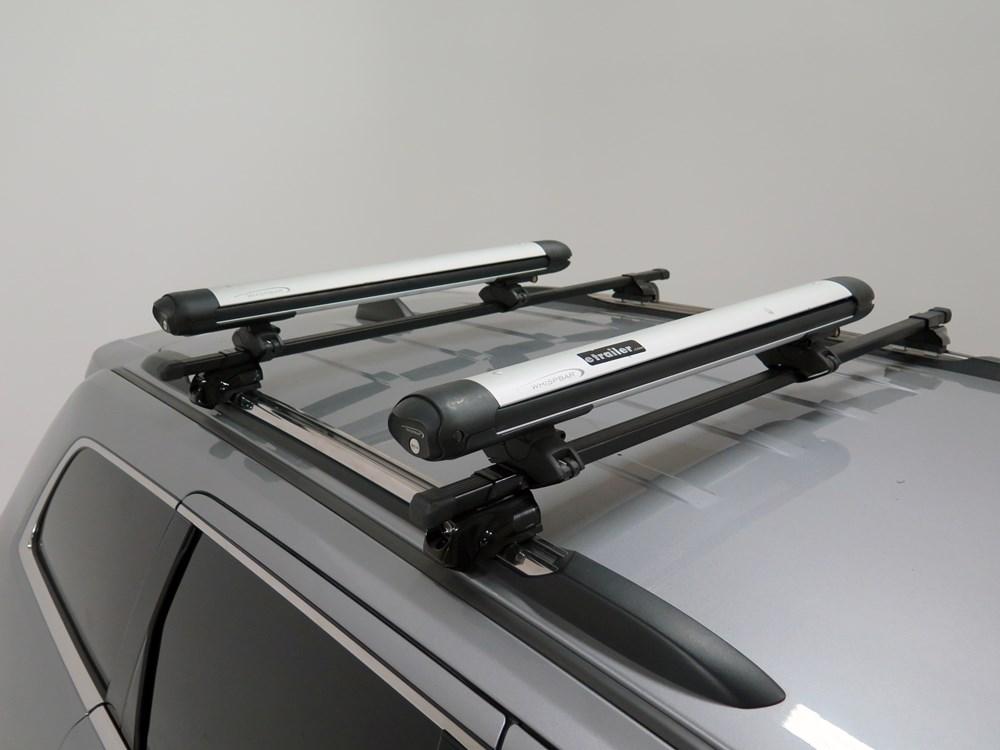 Honda Pilot Whispbar Locking Rooftop Ski And Snowboard